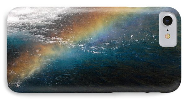 IPhone Case featuring the photograph Rainbow At Waterfall Base by Debra Thompson