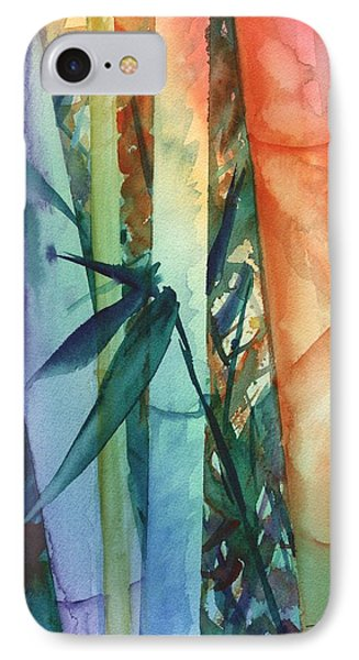 Rainbow Bamboo 2 IPhone Case by Marionette Taboniar