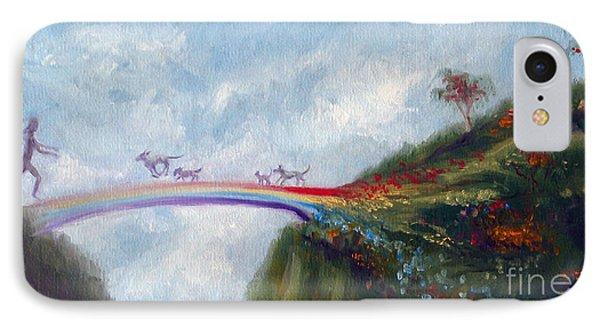 Rainbow Bridge Phone Case by Stella Violano