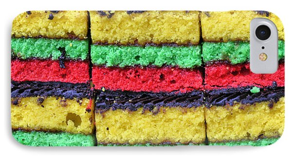 Rainbow Cookies Phone Case by JC Findley