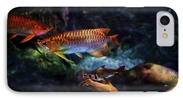 Rainbow Exotic Fish Phone Case by Jani Bryson