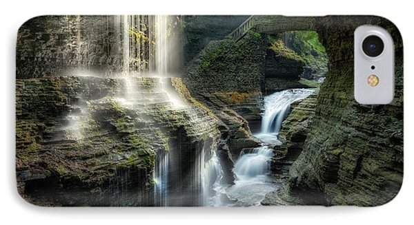 Rainbow Falls Phone Case by Bill Wakeley