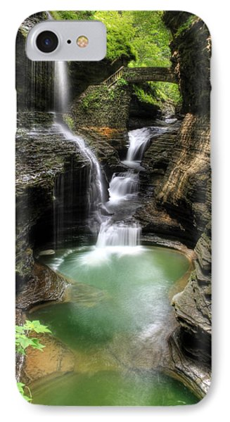 Rainbow Falls IPhone Case by Lori Deiter