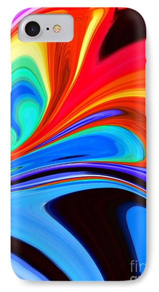 Rainbow Flare Phone Case by Chris Butler