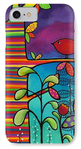 Rainbow Forest Phone Case by Carla Bank