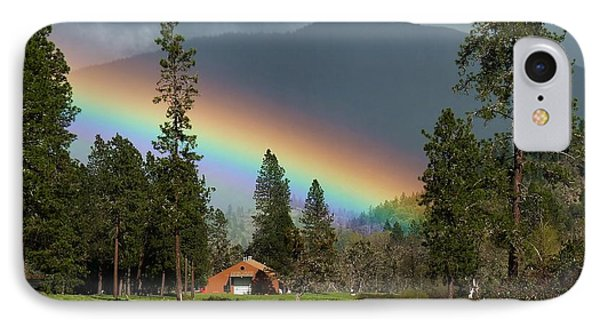 IPhone Case featuring the photograph Rainbow Forest by Julia Hassett