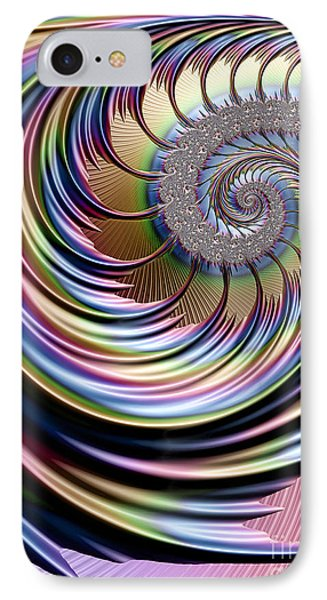 Rainbow Fronds IPhone Case by John Edwards