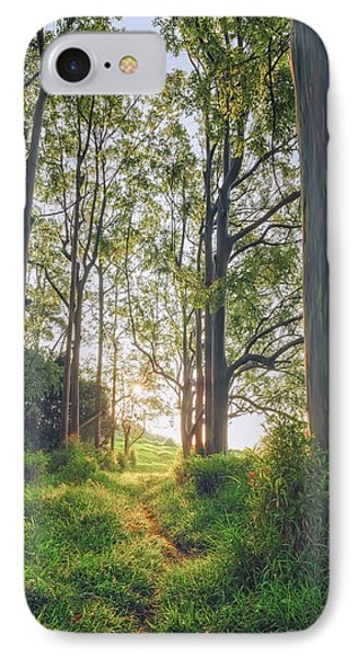 Rainbow Grove IPhone Case by Hawaii  Fine Art Photography