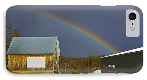 Rainbow In Maine IPhone Case