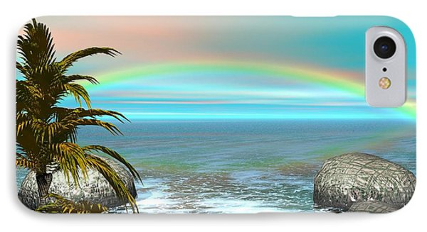 IPhone Case featuring the digital art Rainbow by Jacqueline Lloyd