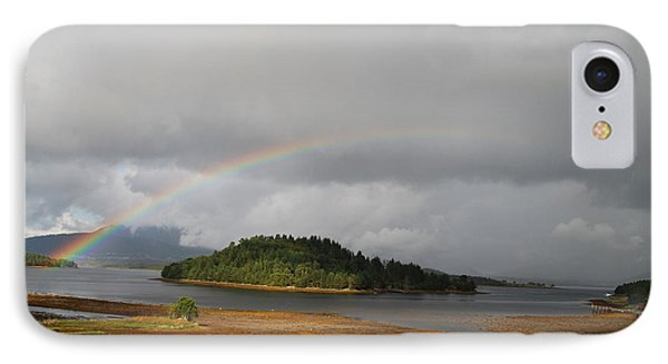 Rainbow Of The North IPhone Case
