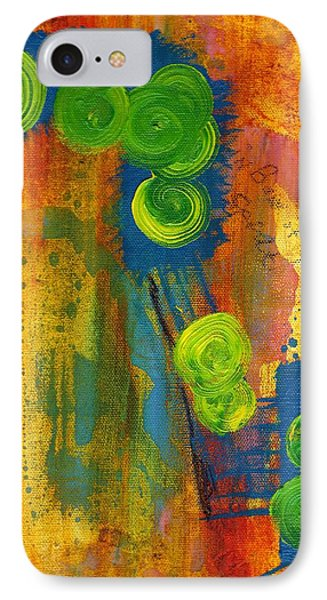 Rainbow Of The Spirit IPhone Case by Lesley Fletcher
