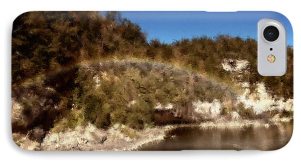 Rainbow On The Cumberland IPhone Case by Ken Frischkorn