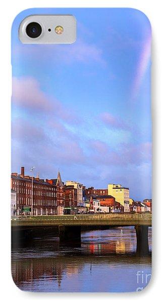 Rainbow Over Cork IPhone Case