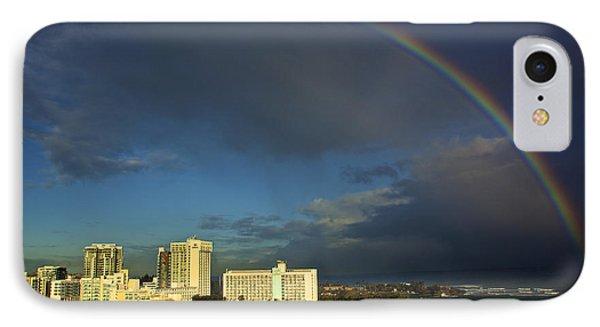 Rainbow Over San Juan IPhone Case