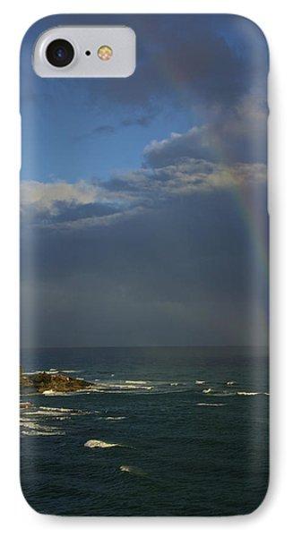 Rainbow Over The Atlantic IPhone Case