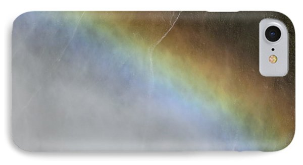 IPhone Case featuring the photograph Rainbow Over The Falls by Laurel Powell