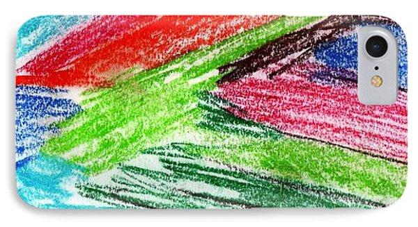 Rainbow Paintbrush IPhone Case