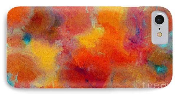 Rainbow Passion - Abstract - Digital Painting Phone Case by Andee Design