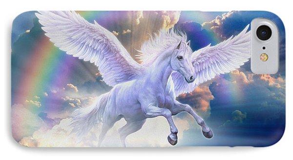 Rainbow Pegasus IPhone Case by Jan Patrik Krasny