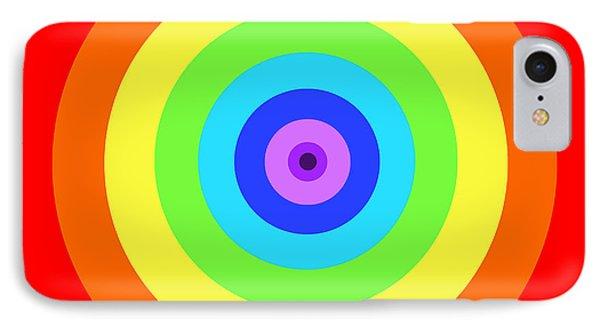 Rainbow Reality Phone Case by Mariola Bitner