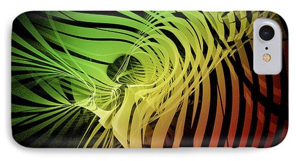 Rainbow Ribs IPhone Case by Richard J Cassato