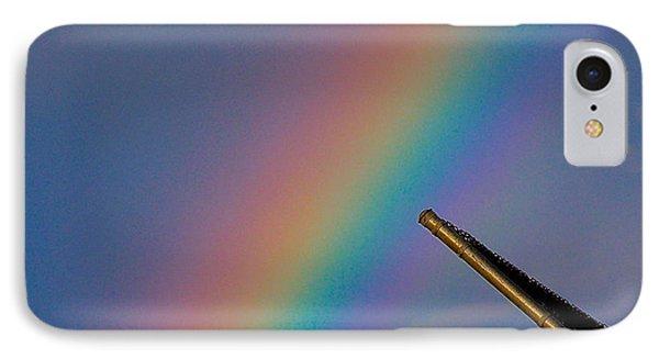 Rainbow IPhone Case by Rita Mueller