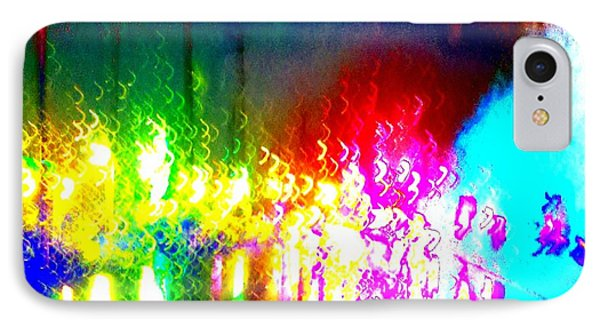 Rainbow Splash Abstract IPhone Case