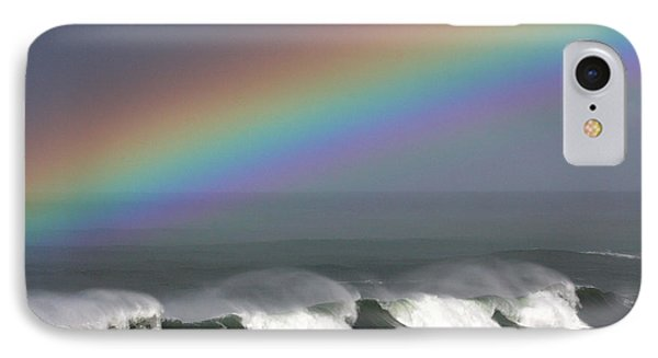 Rainbow Storm IPhone Case by Ru Tover