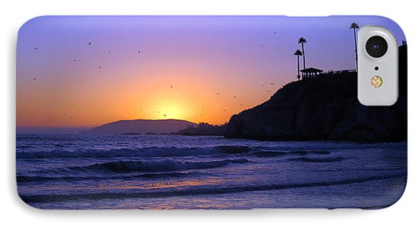Rainbow Sunset IPhone Case by Debra Thompson