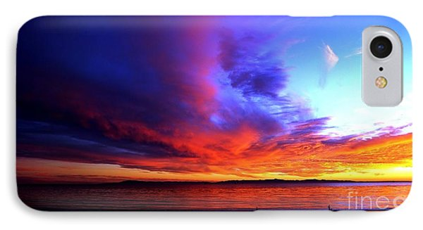 IPhone Case featuring the photograph Rainbow Sunset by Sue Halstenberg