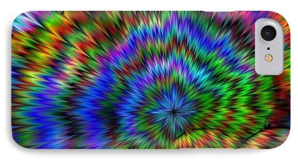 Rainbow Super Nova IPhone Case