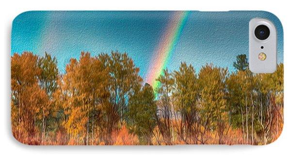 Rainbow Surprise Phone Case by Omaste Witkowski