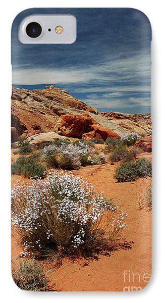 513p Rainbow Vista In The Valley Of Fire IPhone Case by NightVisions