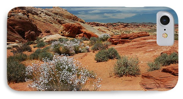 601p Rainbow Vista In The Valley Of Fire IPhone Case by NightVisions