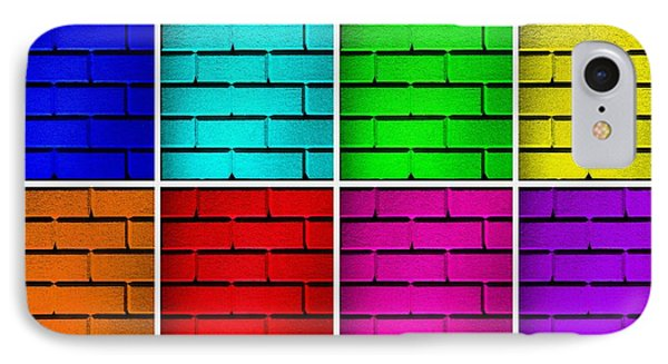 Rainbow Walls Phone Case by Semmick Photo