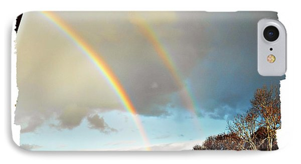 IPhone Case featuring the photograph Rainbows by Leanne Seymour