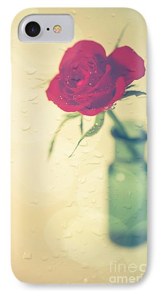 Raindrops On Roses . . . IPhone 7 Case