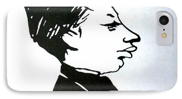 IPhone Case featuring the digital art Rainer Maria Rilke  by Asok Mukhopadhyay