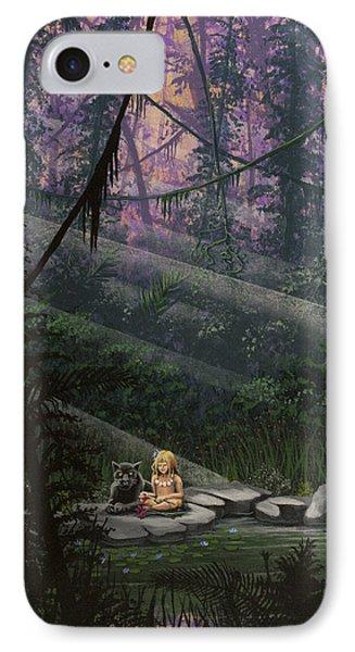 Rainforest Mysteries IPhone Case