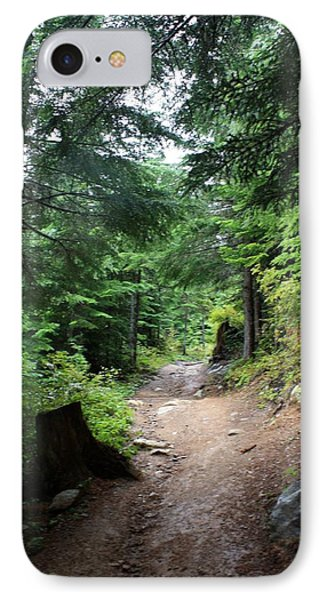 Rainforest Trail - Cheakamus Lake IPhone Case by Amanda Holmes Tzafrir