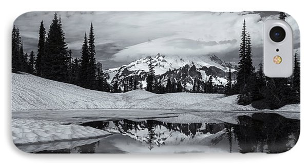 Rainier Reflections Phone Case by Mike  Dawson