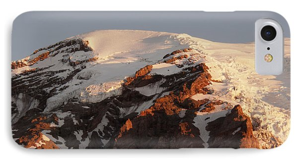 Rainier Summit IPhone Case by Sharon Seaward
