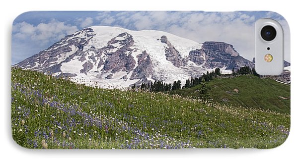 Rainier's Wildflowers IPhone Case by Sharon Seaward
