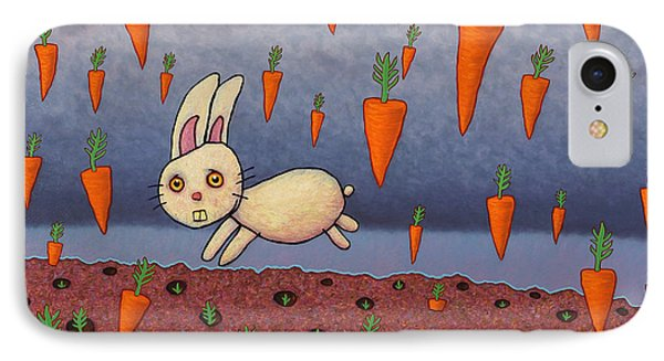 Raining Carrots IPhone Case by James W Johnson