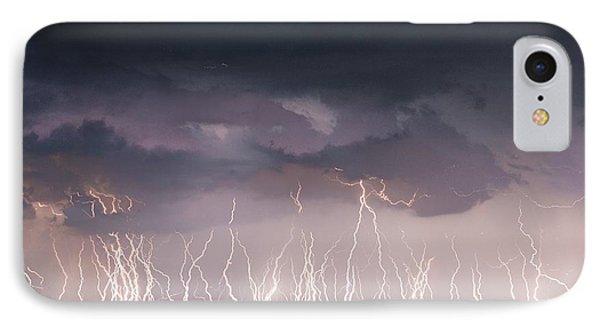 Raining Electricity IPhone Case