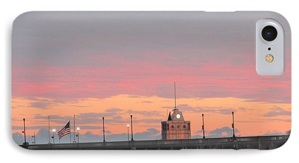 IPhone Case featuring the photograph Rainless Rainbow At Sunset by Joetta Beauford
