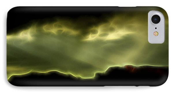 IPhone Case featuring the digital art Rainlight 1 by William Horden