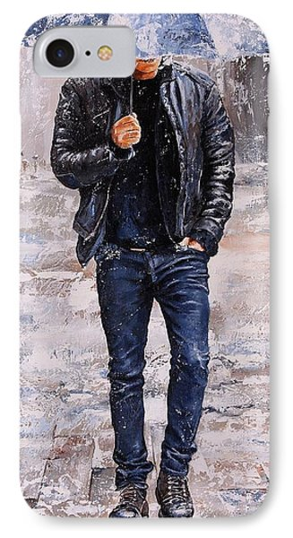 Rainy Day #23 IPhone Case by Emerico Imre Toth