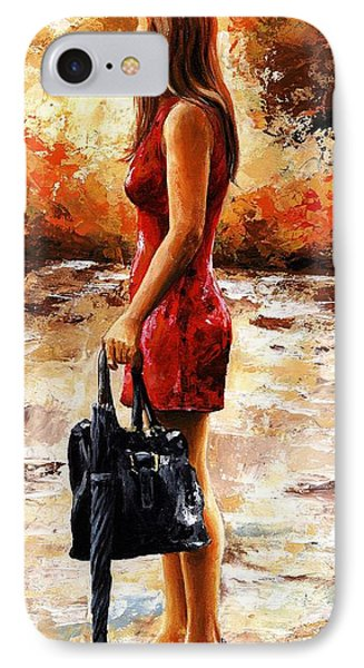 Rainy Day - After The Rain IPhone Case by Emerico Imre Toth